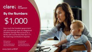 Registered Disability Savings Plan (RDSP) infographic